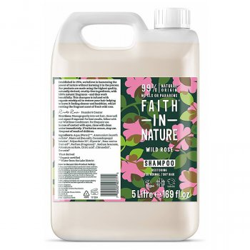 Faith in Nature Wild Rose Shampoo - 5L