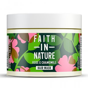 Faith in Nature Wild Rose & Chamomile Restoring Hair Mask - 300ml