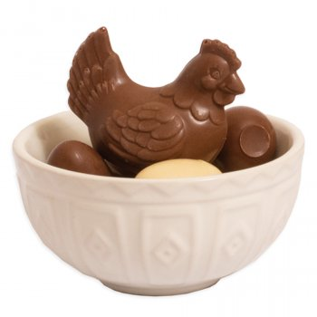 Cocoa Loco Milk Chocolate Hen on a Nest - 130g
