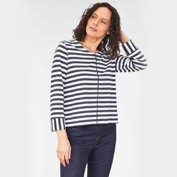 Thought Kaylee Stripe Top - Navy