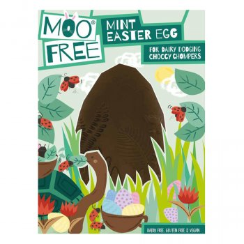 Moo Free Organic Mint Chocolate Easter Egg - 140g