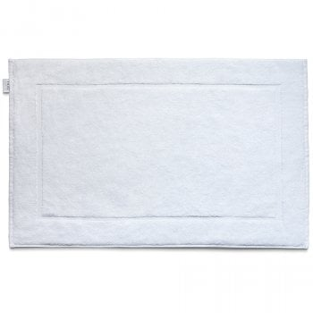 Bamboo Bath Mat - White