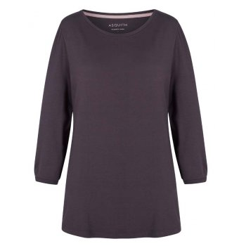 Asquith 3/4 Sleeve Tee - Pebble
