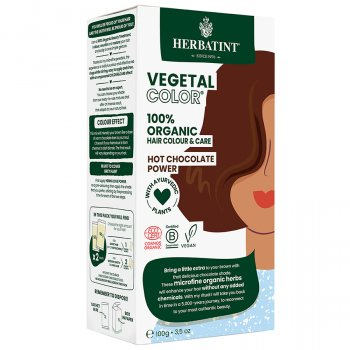Herbatint Vegetal Semi Permanent Hair Colour - Hot Chocolate Power - 100g