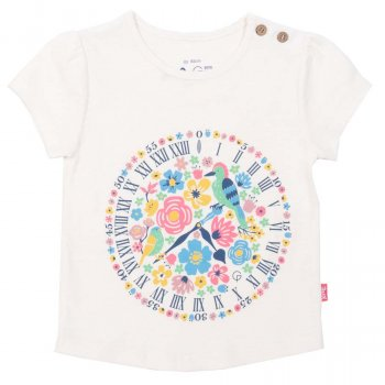 Kite Shepherd Gate Clock T-Shirt