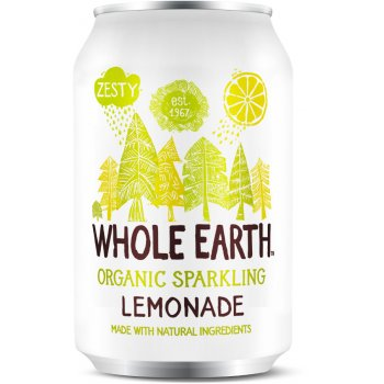 Whole Earth Organic Sparkling Lemonade 330ml