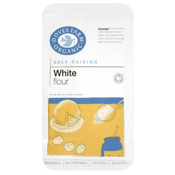 Doves Farm Organic Unbleached White Self Raising Flour
