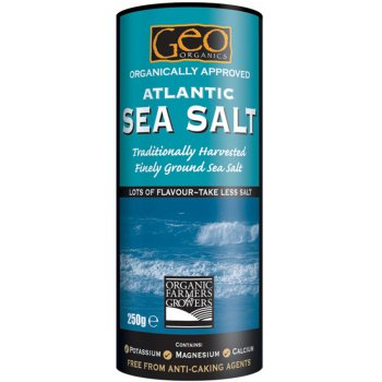 Geo Organics Atlantic Fine Ground Sea Salt