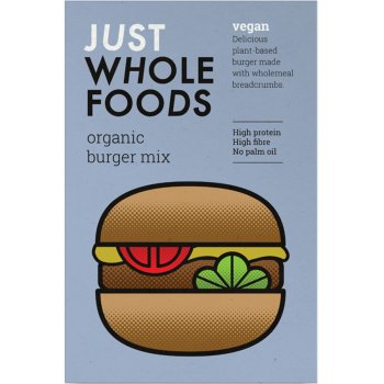 Just Wholefoods Vegan Burger Mix - 125g