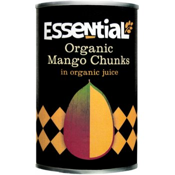 Essential Trading Organic Mango Chunks In Juice - 400g