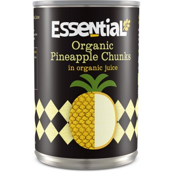 Essential Trading Organic Pineapple Chunks In Juice - 400g
