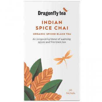 Dragonfly Organic Traditional Indian Chai - 20 Bags