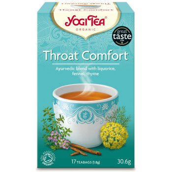 Yogi Throat Comfort Tea x 17 bags