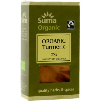 Suma Organic & Fairtrade Ground Turmeric 25g