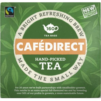 Cafedirect Teabags - 160 Bags