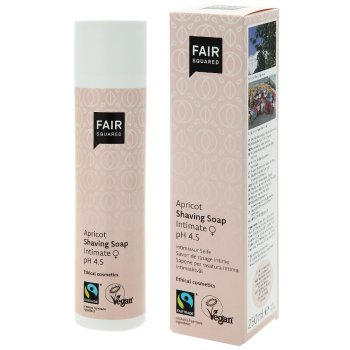 Fair Squared Intimate Shaving Soap - Apricot - 250ml