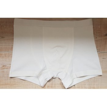 Pure Organic Cotton Boxer Shorts - White