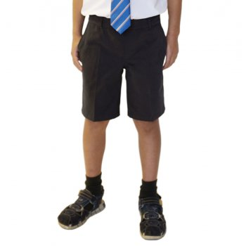 Boys Classic Fit Shorts - Charcoal - 11yrs