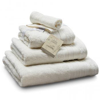 Bamboo Bath Sheet - Cream