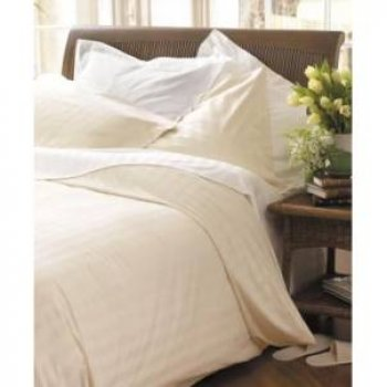 Ecru Single Duvet Cover