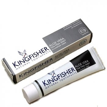 Kingfisher Aloe Vera, Tea Tree & Mint Toothpaste (Fluoride Free) - 100ml