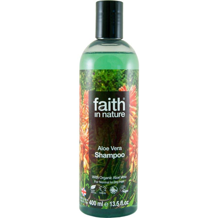 Faith In Nature Aloe Vera Shampoo - 400ml - Faith In Nature