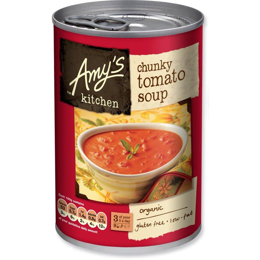 Amy's Kitchen Chunky Tomato Soup - 400g - Amy's Kitchen