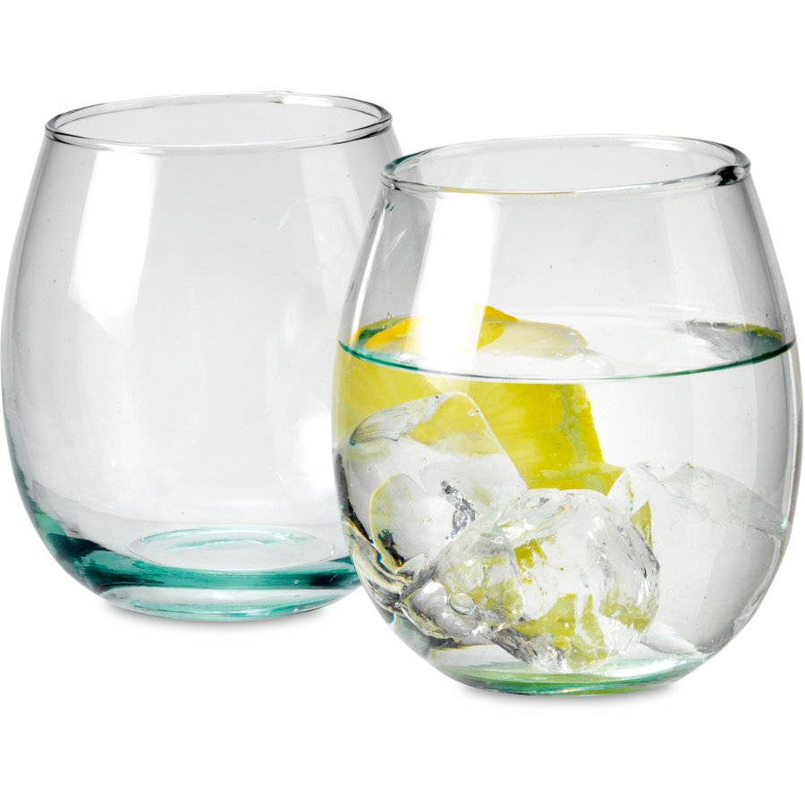 Premium Recycled Glass Tumblers Set Of 4 Traidcraft
