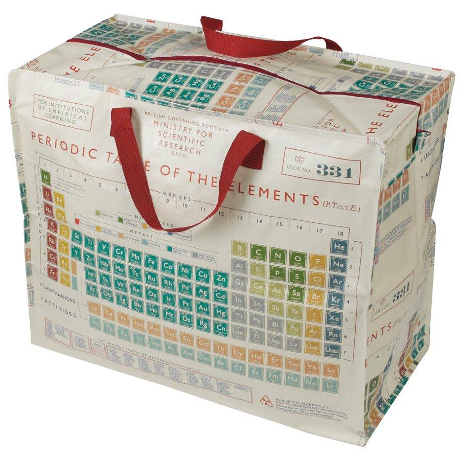 recycled jumbo storage bag periodic table