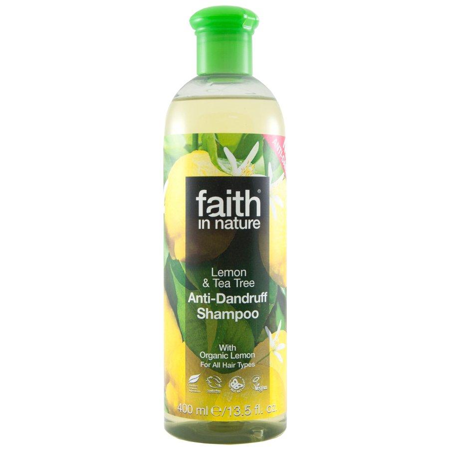 Lemon in shampoo