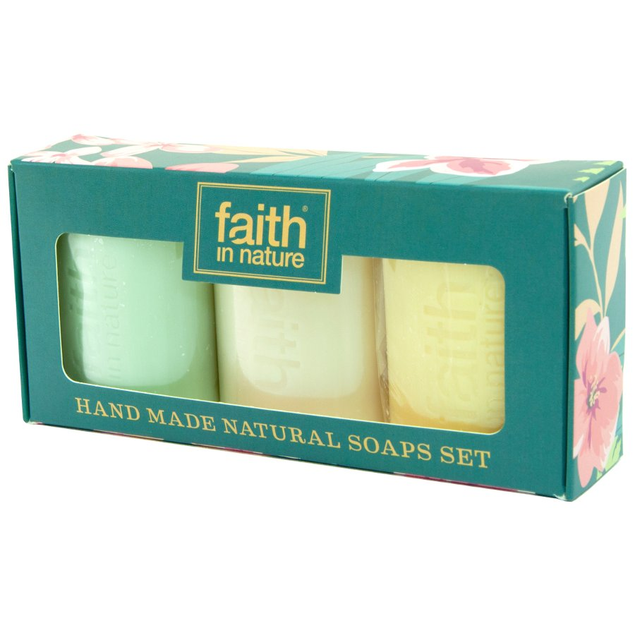 Faith In Nature Handmade Soap Gift Set Faith In Nature