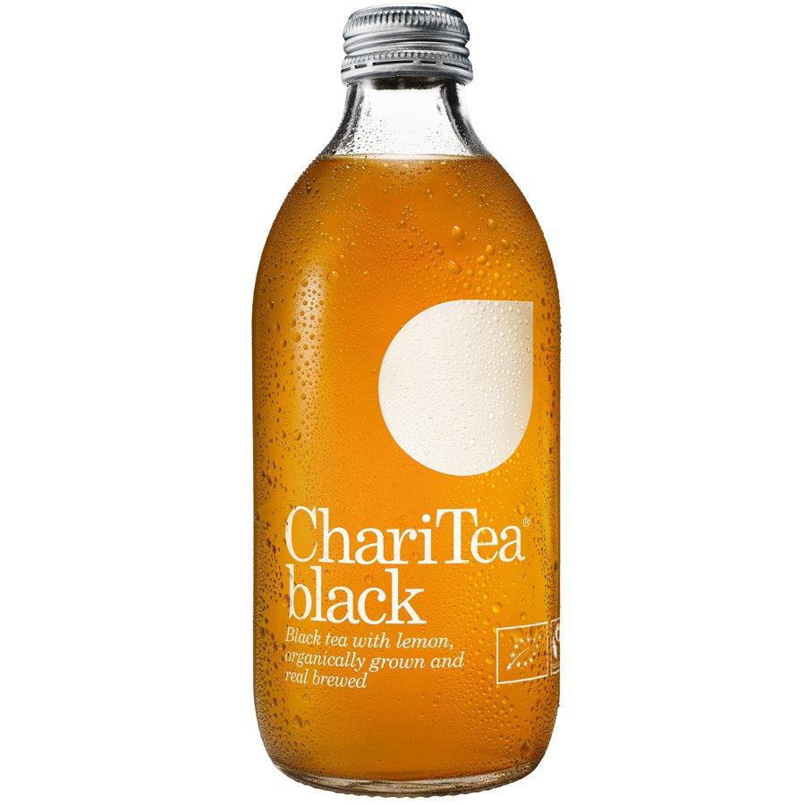 Charitea Iced Black Tea With Lemon 330ml Lemonaid
