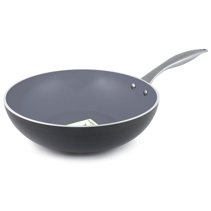 Greenpan Venice Induction Open Wok 30cm Greenpan