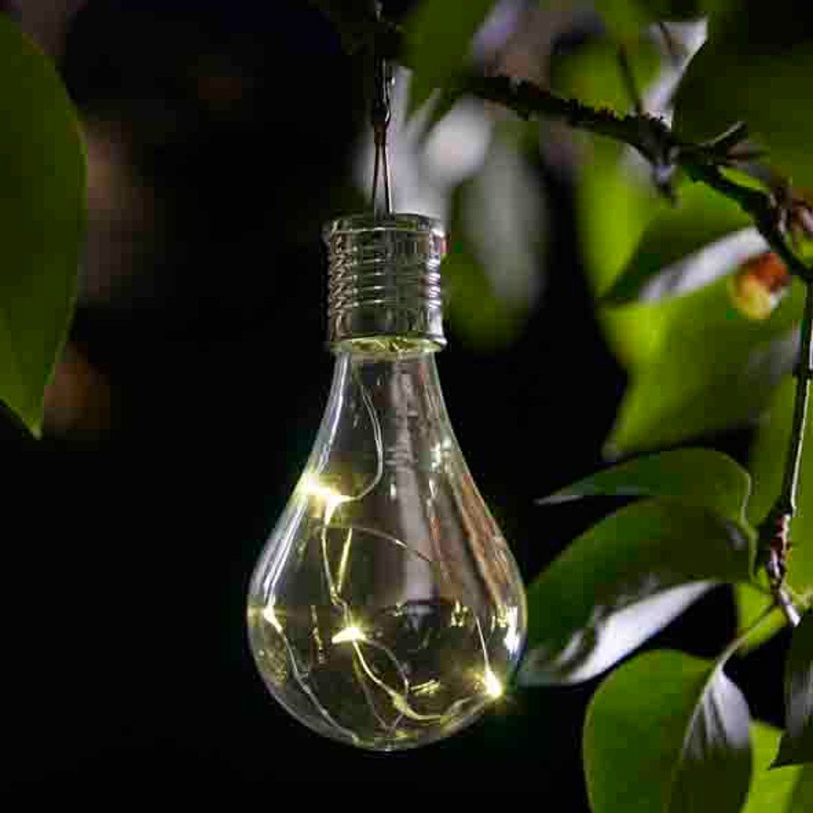 Eureka Solar Ed Lightbulb Lantern 6 Pack Smart Garden