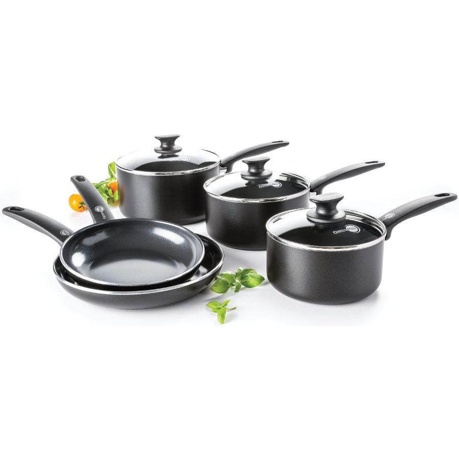 4a37ba89c4d9 GreenPan Cambridge 5 Piece Cookware Set - GreenPan