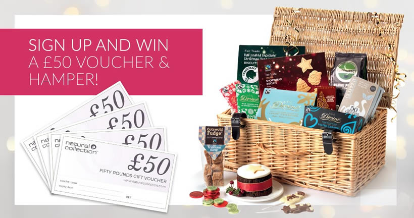 Win a Natural Collection hamper and £50 of Natural Collection vouchers